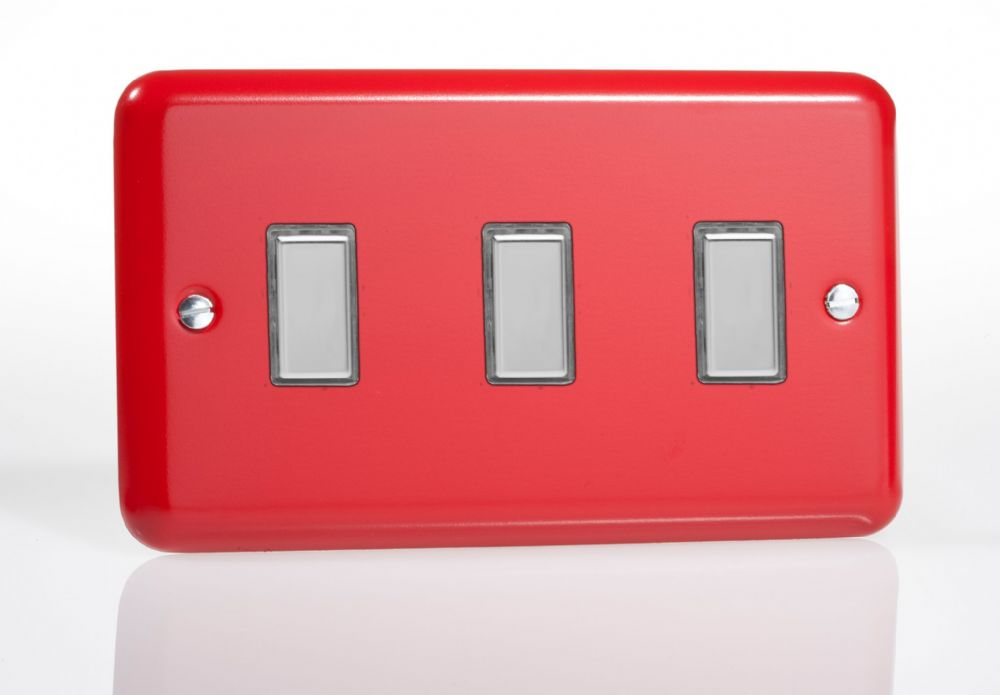 3 Gang 1 Way Led Dimmer Switch
